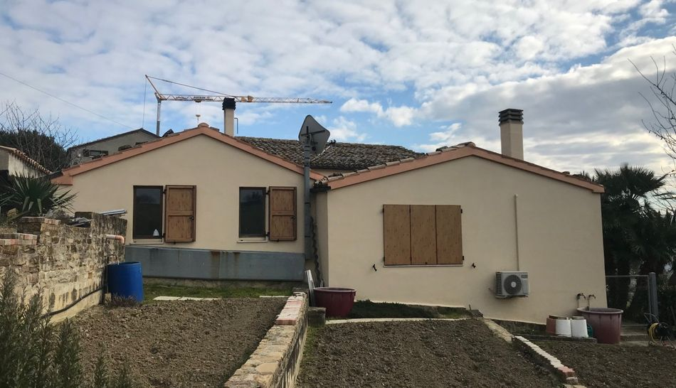 Casa di campagna ubicata nel comune di Castelplanio